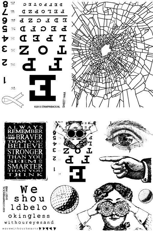 KIT 144 Eye Chart