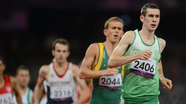 Ireland's Michael McKillop was chosen as one of two athletes who exemplified the spirit of the Paralympic Games. McKillop, who lit up the Olympic Stadium in London with gold-medal winning races in the T37 800m and 1,500m events, consistently dedicates time to helping and encouraging thousands of school children throughout Ireland.