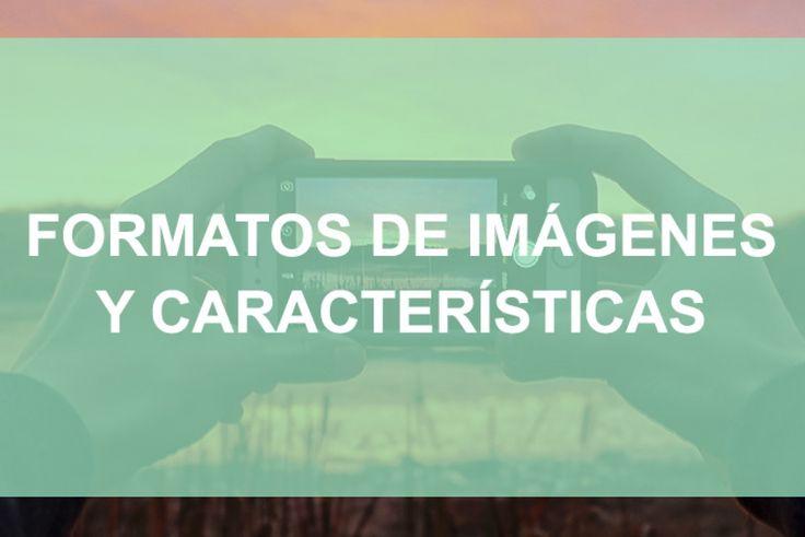 ¿Conoces las características y los tipos de imágenes digitales? Aquí tienes una lista con los 11 formatos de imágenes más usados y sus características ¿Por qué usar un tipo de imagen u otra? #imagen #diseño #ilustracion #formato #dibujo