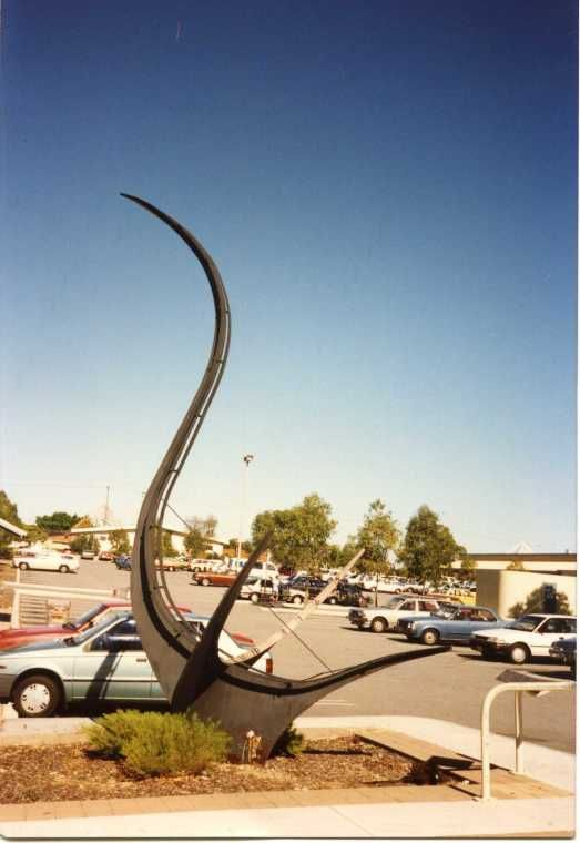 BA2735/134: Sun dial, Dianella Plaza Shopping Centre, WA. http://encore.slwa.wa.gov.au/iii/encore/record/C__Rb4703780__Swork%20produced%20by%20members%20of%20the%20blacksmiths%27__Orightresult__U__X6?lang=eng&suite=def