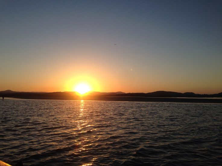 Sunset in Sarina, Queensland