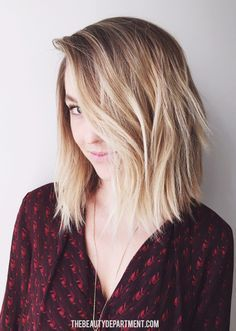 The most requested haircut of the moment now has it's own post. Find out everything you need to know about the Textured Lob right here!