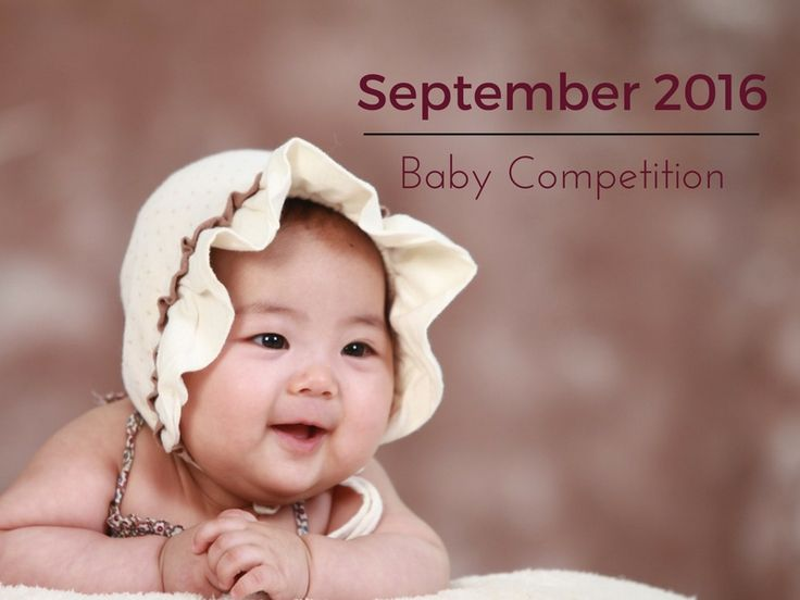 Baby Competition September 2016  Entries have just opened for the September 2016 Baby Competition!   Enter your baby and stand a chance to win a R500 4AKid voucher!