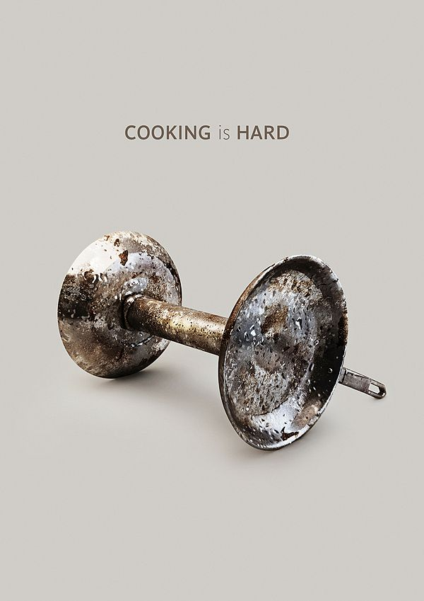 Cooking is hard