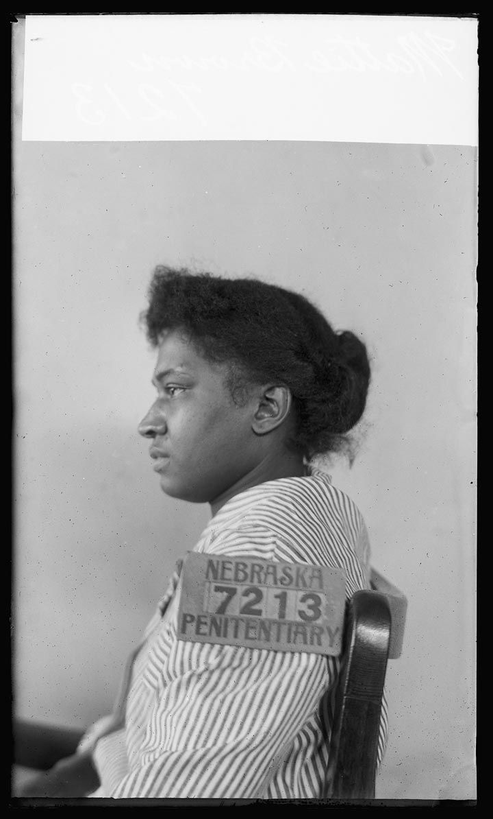The vintage mugshots of shoplifters bank robbers and murderers from - Brown Mattie 7213b Jpg 720 1194