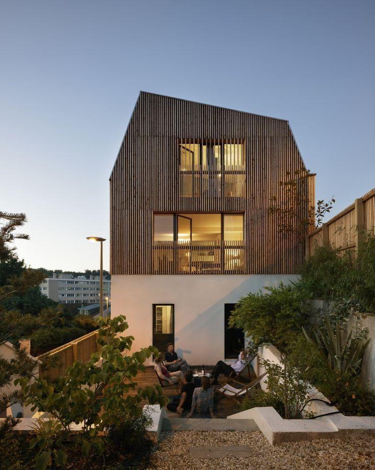 1000 id es sur le th me surelevation bois sur pinterest for Architecte extension maison 92
