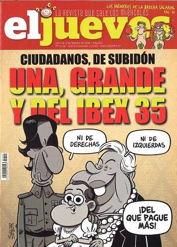 EL JUEVES  nº 2124 (7-13 febreiro 2018)