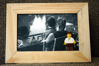 Framed pictures with Lego
