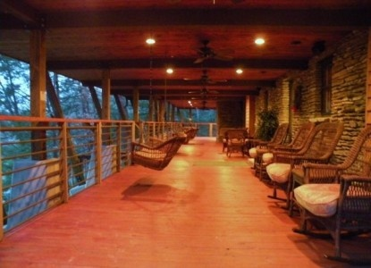 Another perfect porch: The Inn at Evins Mill Smithville, Tennessee