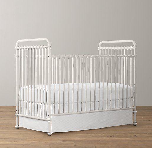 rh baby and child's millbrooke iron crib.