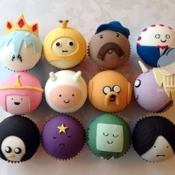 Adventure Time character Cupcakes / Cake / Food