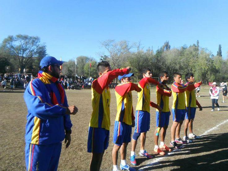selección Colombia sub 18 de fistball, en la copa villa gral. Belgrano en Argentina