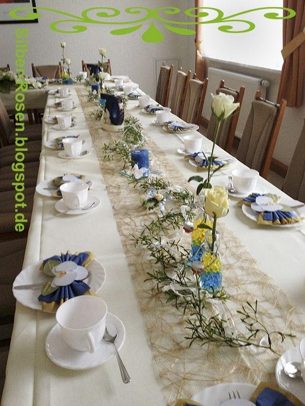 Tischdeko 70 Geburtstag Mann Schon Silber Rosen Wie Eine Tischdeko