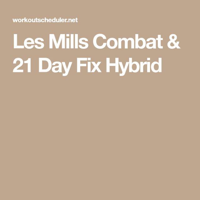 Les Mills Combat & 21 Day Fix Hybrid