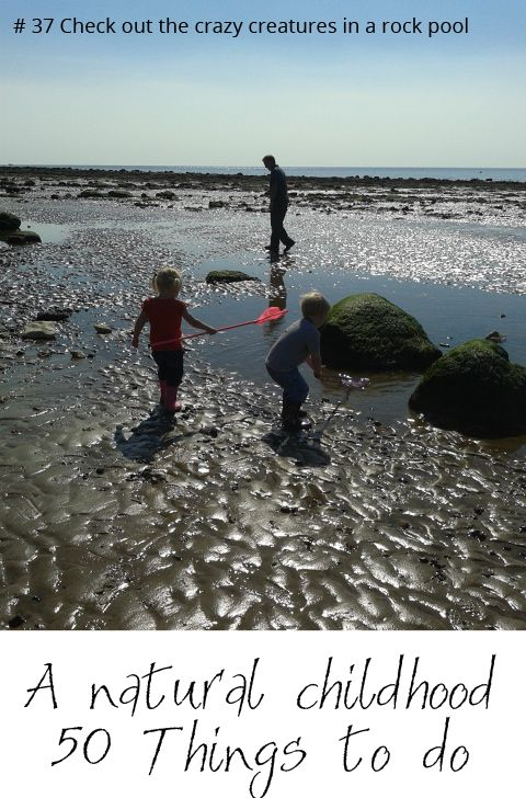 Come and find out 50 outdoor activities to create a Natural Childhood full of good old fashioned outdoor play