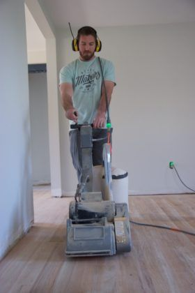 Restoring a Hardwood Floor: Elbow Grease and Tool Rental