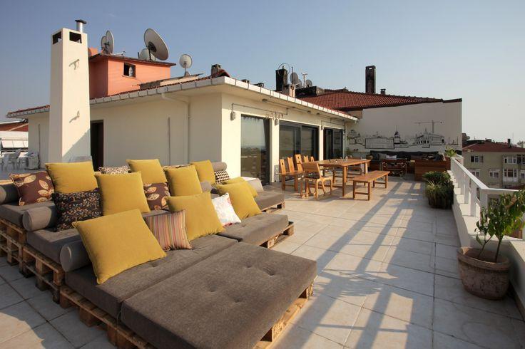 Terrace House // Naif Tasarım     #interiordesign #terrace