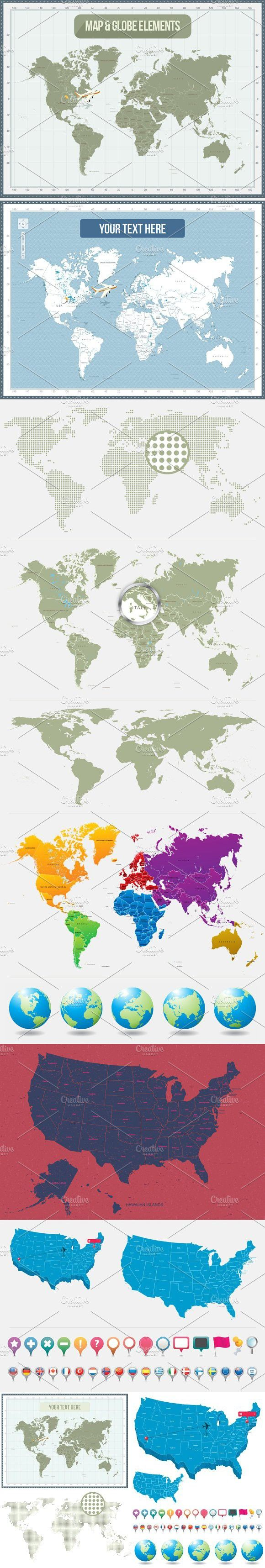 Maps and Globes 29 best Travel images