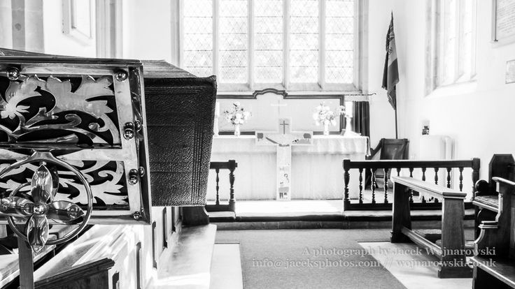 Lectern with Altar in background - Jacek's photos