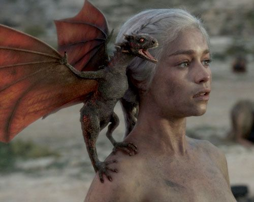 Game of Thrones DRAGON BABIES! (because human babies SUCK in comparison)