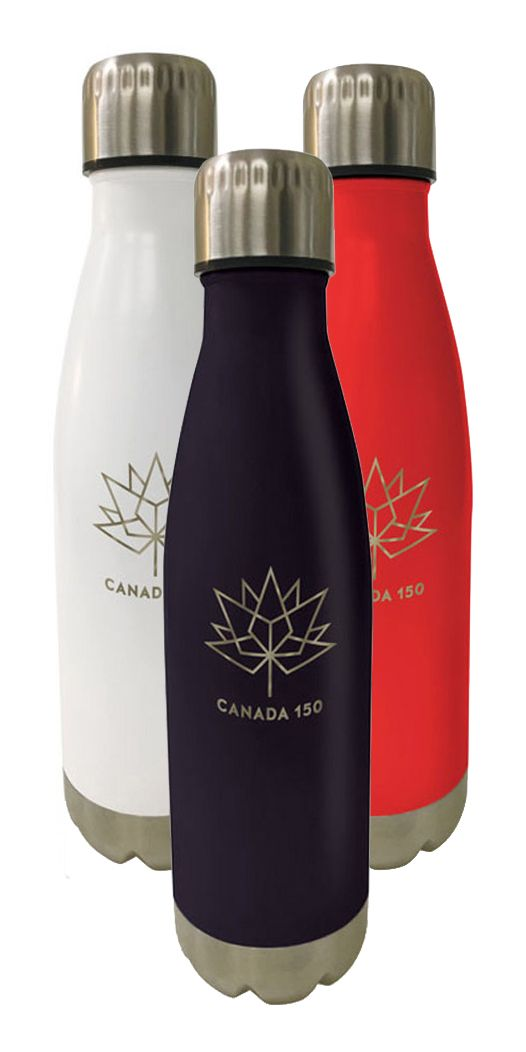 Stay Hydrated with our Canada 150 Bottle