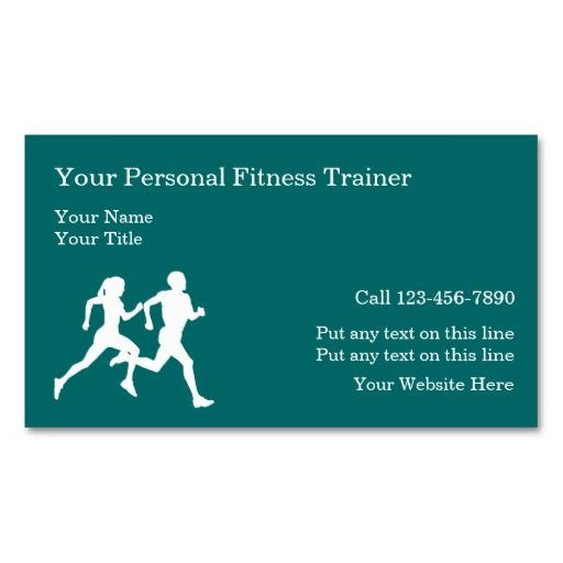 189 best athletic trainer business cards images on pinterest personal fitness training business cards colourmoves