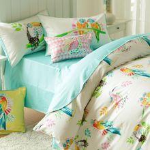 Têxtil de casa, Linpure, 4 pcs cama sets100 % algodão, 60 s 300tc gêmeo de tamanho completo, Qualidade