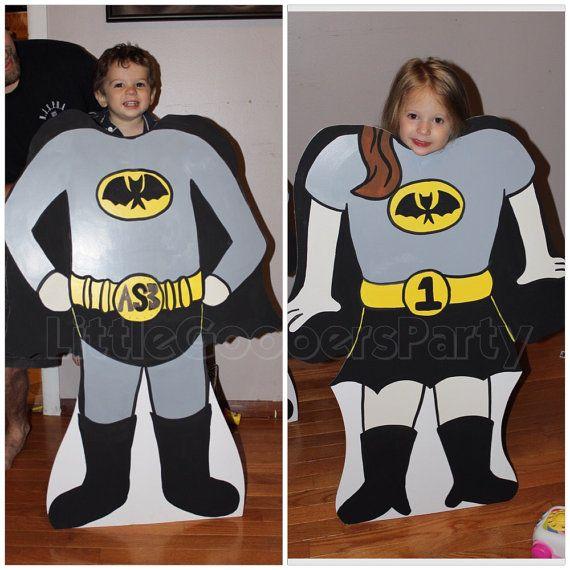 Superboy personnalisé Photo Booth Props. 1 par LittleGoobersParty