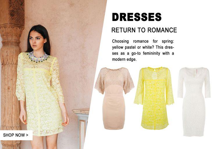 Return to romance #imperialfashion #dresses