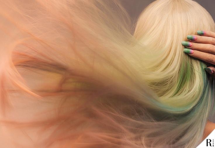 Mermaid hair  REPORT! Nº3 'Primavera ESPECTACULAR'  Septiembre 2012