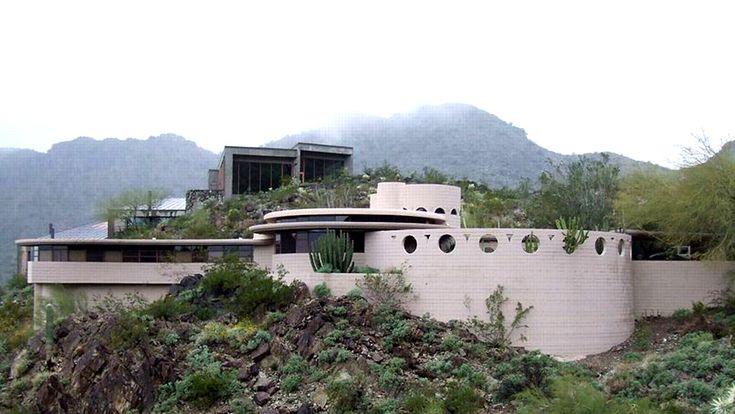 Norman Lykes house - Franck Lloyd Wright - 1959 - 69 - Phoenix - Le Figaro immobilier mars 2016 - photo 01