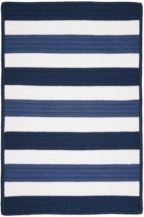 this indooroutdoor rug offers ri navy stripe rug home decorators collection - Home Decorators Outdoor Rugs