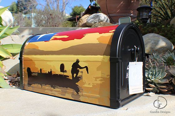 decorative mailbox flags