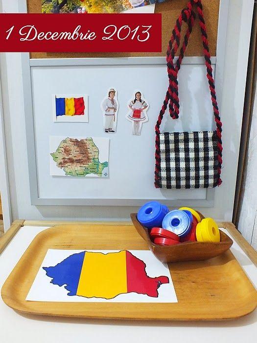 Am vorbit astazi cu Ema despre Romania, despre harta, steag si despre copii imbracati in costume nationale.      Pentru inceput i-am pre...