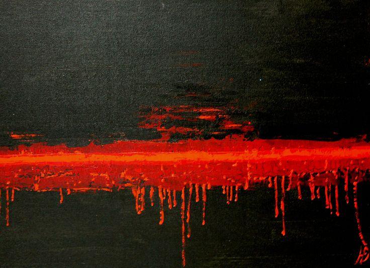 Раскололся от боли, 60Х80, а.х.к., 2015