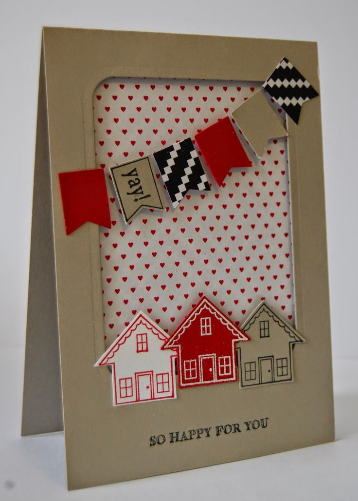UK Independent Stampin' Up! Demonstrator - Julie Kettlewell: New Home card