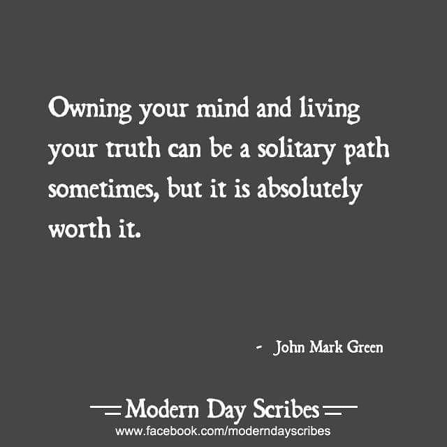 Thanks to Modern Day Scribes for sharing my words! https://www.facebook.com/ModernDayScribes/ . #johnmarkgreenpoetry #quote #qotd #lifequotes #loner #instaquote #questioner #rebel #insight #lifequote #free #nonconformist #bestofday #freedom #freemind #johnmarkgreen #igwriters #amwriting #igpoets #independent #writingcommunity #freethinker #outsider #questioneverything #outsiders #igquotes #liveyourtruth #instagood