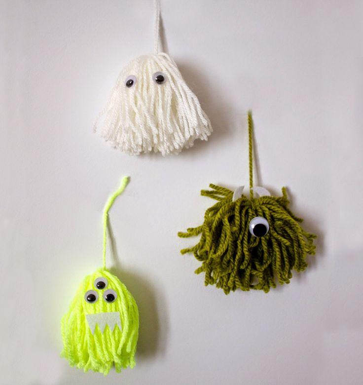 Paseando hilos: Monstruos y Fantasmas de Halloween
