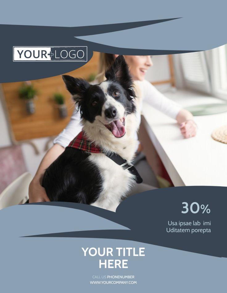 Pet Grooming Flyer Template in Dog Grooming Flyers
