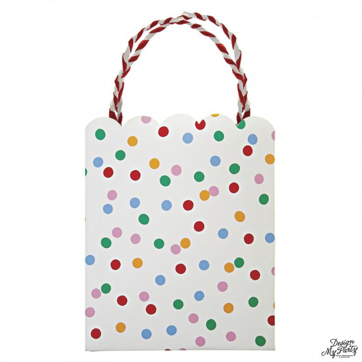 Toot Sweet Spotty polkadot Party Bags