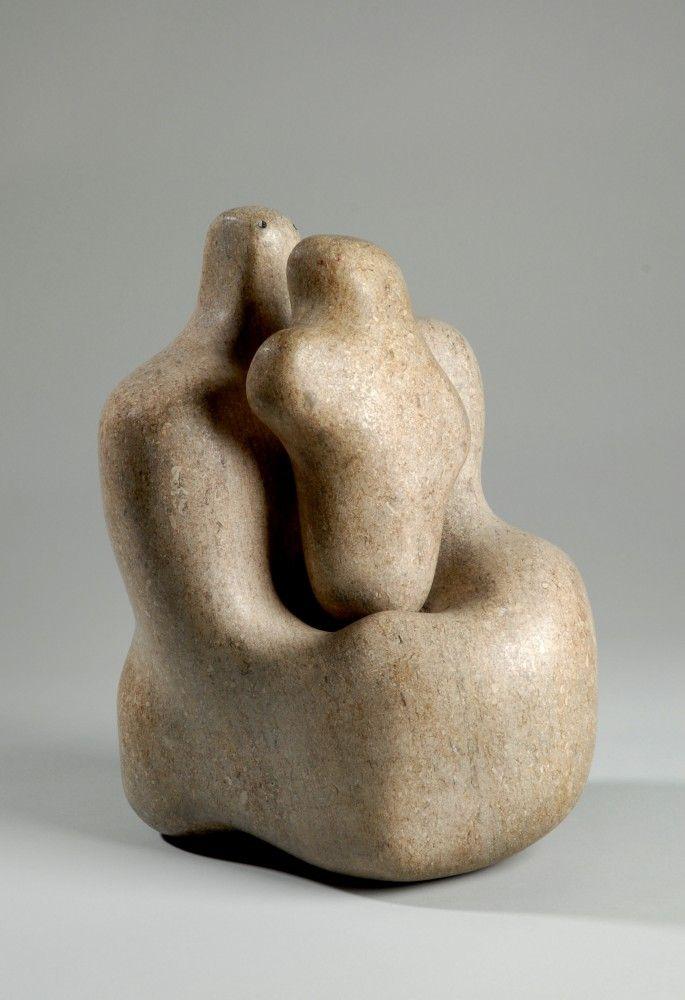 Barbara Hepworth sculpture.