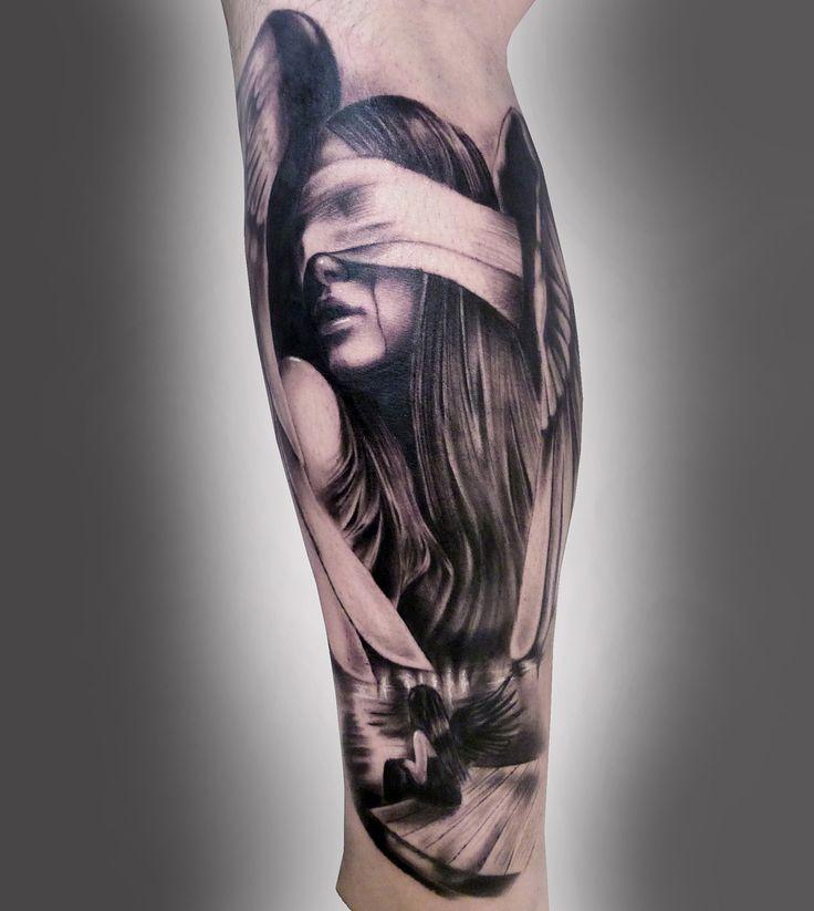 Very cool. Tattoo by Silvano Fiato at Eternal Tattoo Studio in Genova, Italy