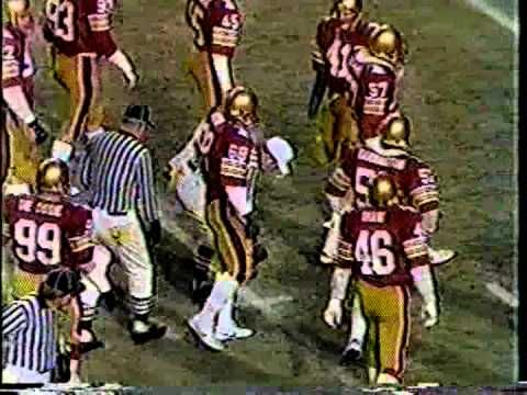 1983 Liberty Bowl - Notre Dame vs. Boston College - 1 of ?