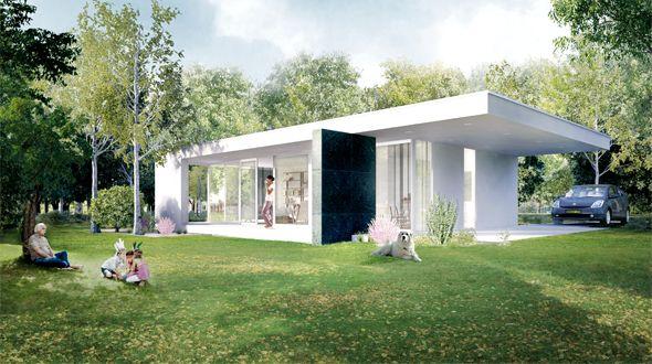 The XS villa/ Being Home.  De huizen van Being zijn stijlvol en slim ontworpen met gebruik van kwalitatief hoogstaande en duurzame materialen. De XS Villa is een charmant huis, met een natuurlijke warme uitstraling, geschikt als vakantiewoning, gastenverblijf, kantoor en meer.