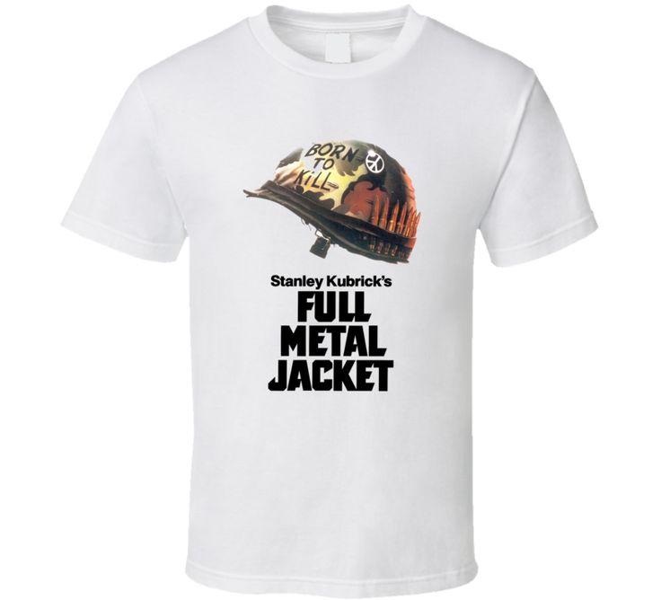 Full Metal Jacket - White T Shirt