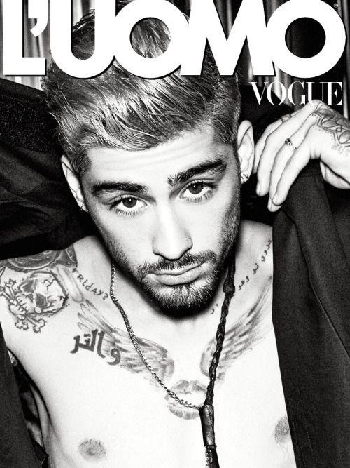 Zayn Malik - L'Uomo Vogue (Janvier 2016)
