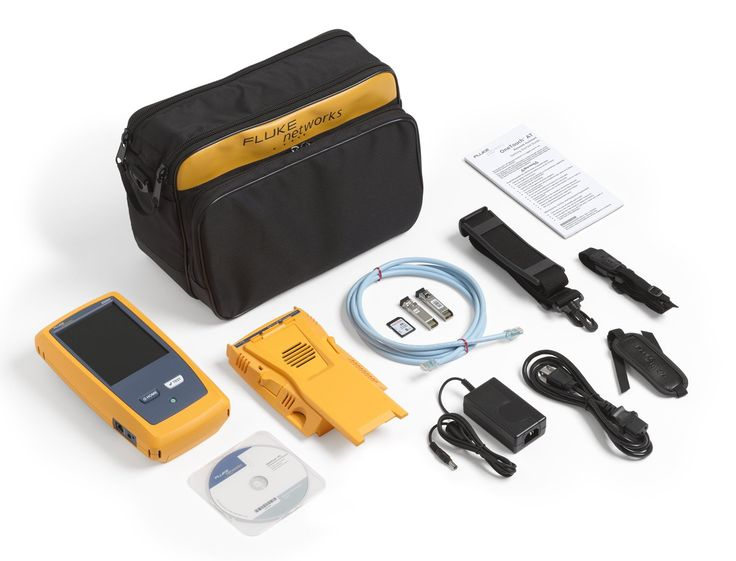 NETSCOUT 1T10G-1000 OneTouch AT 10G Network Assistant. 10 Gigabit: built-in 100/1G/10G copper and 1G/10G fiber optic test ports for troubleshooting and performance measurement. All-in-one: a handheld tester combining infrastructure, network service and end-to-end path performance measurement in one tool. Fast: all tests within a profile are run and graded automatically with the touch of a button, enabling identification of the most common problems in about a minute.