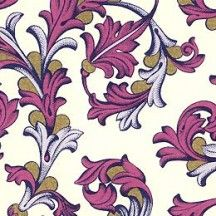 Mulberry and Lavender Traditional Florentine Print Paper ~ Rossi Italy ~ 2013