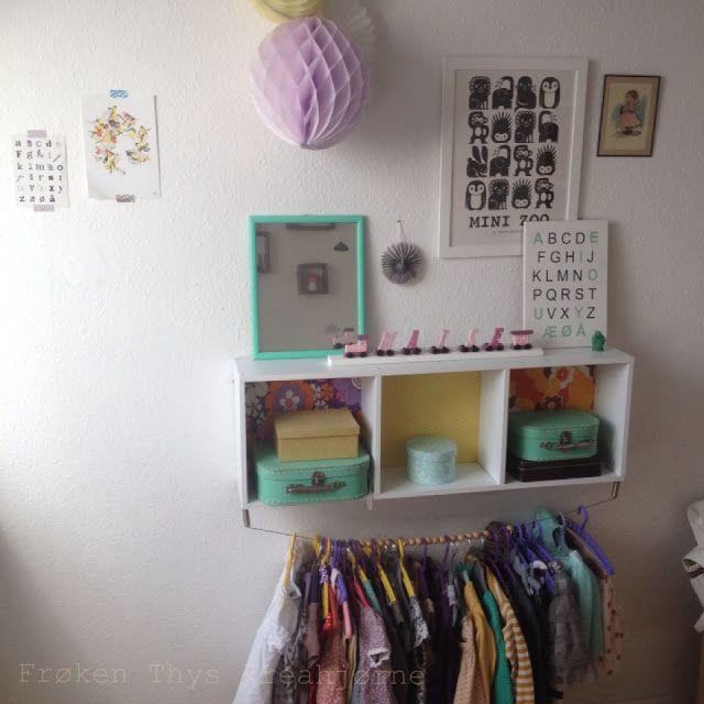 DIY clothes rack - Frøken Thys kreahjørne