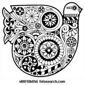 mexican folk art coloring pages - photo#19